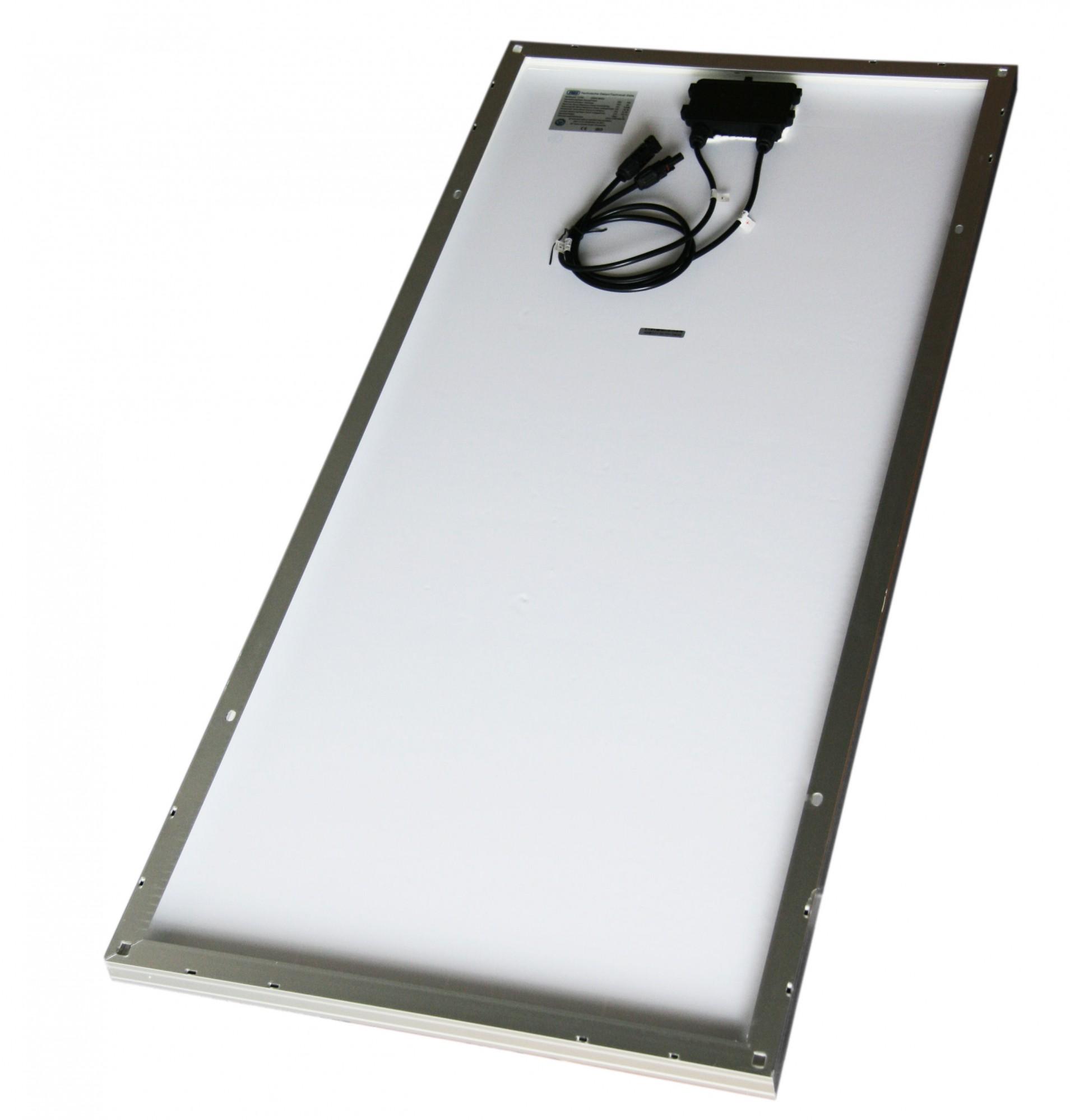 solarpanel solarmodul 12 v 150watt 150 w solarzelle 12 volt solar monokristallin. Black Bedroom Furniture Sets. Home Design Ideas