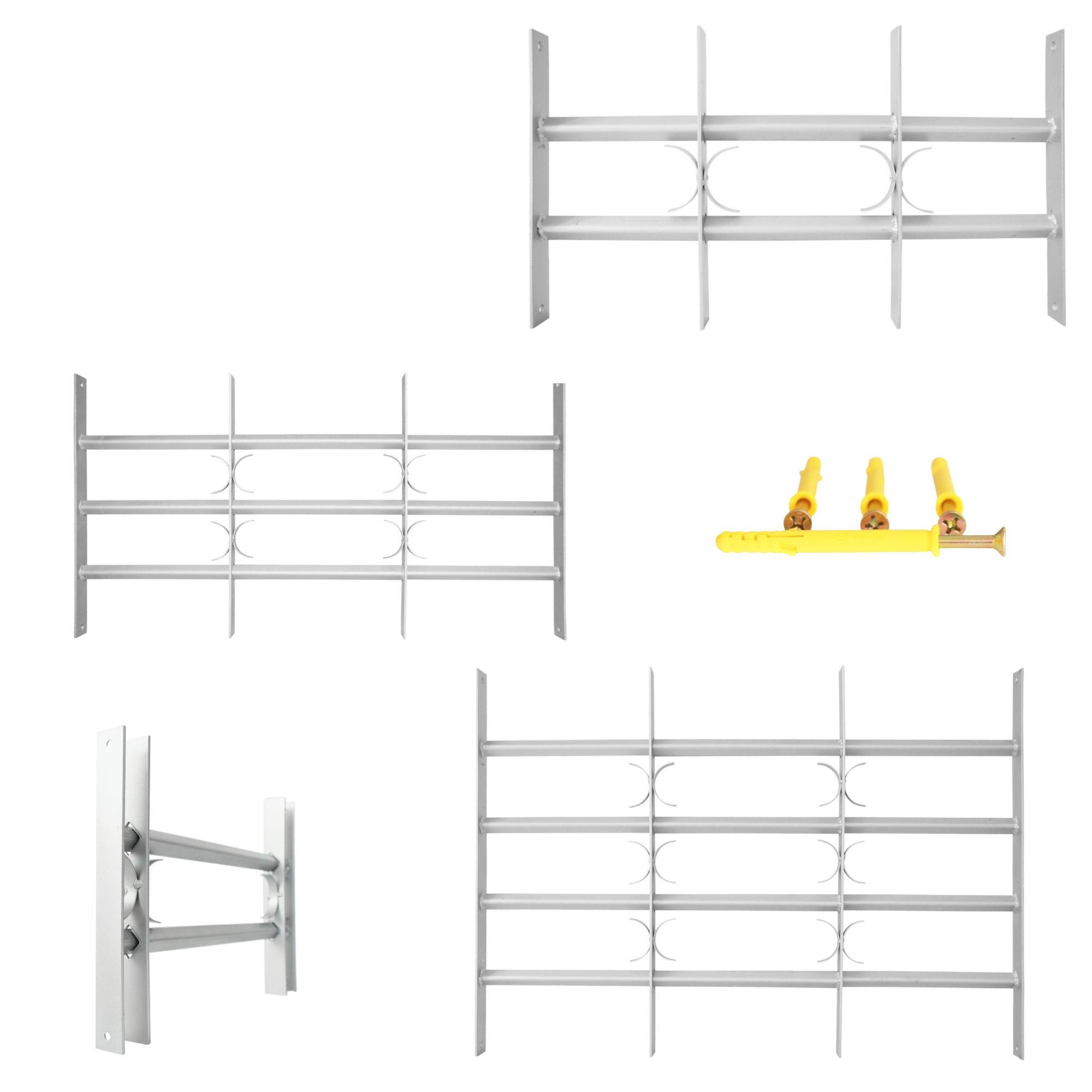 fenstergitter einbruchschutz verstellbar ausziehbar. Black Bedroom Furniture Sets. Home Design Ideas