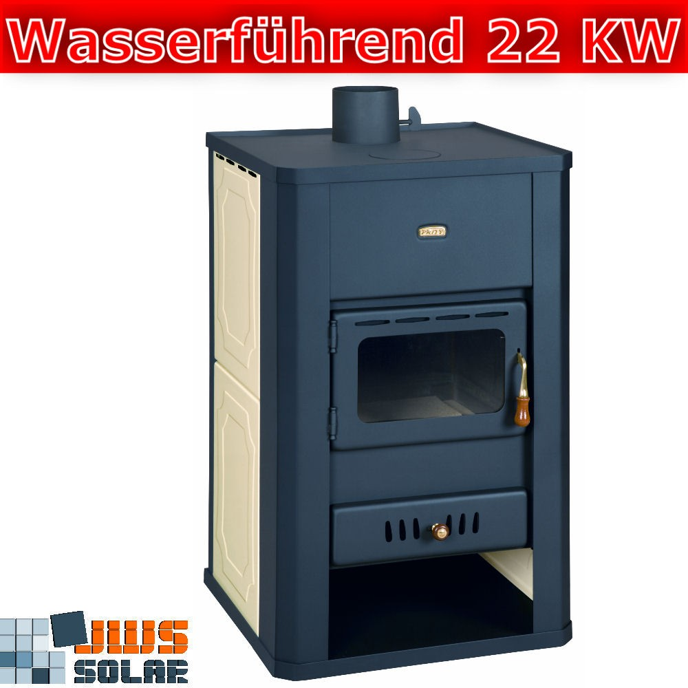 kamin wasserf hrend kaminofen prity s3 w17 22 kw ofen wassertasche wasserkamin ebay. Black Bedroom Furniture Sets. Home Design Ideas