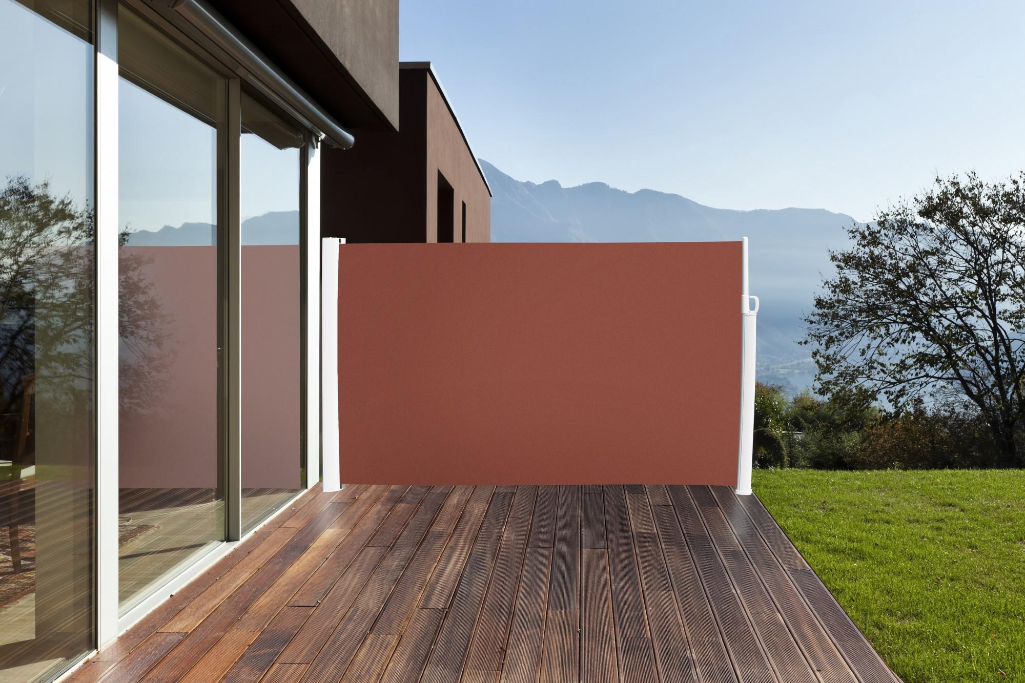 Seitenmarkise Sichtschutz Markise Seitenrollo Sonnenschutz