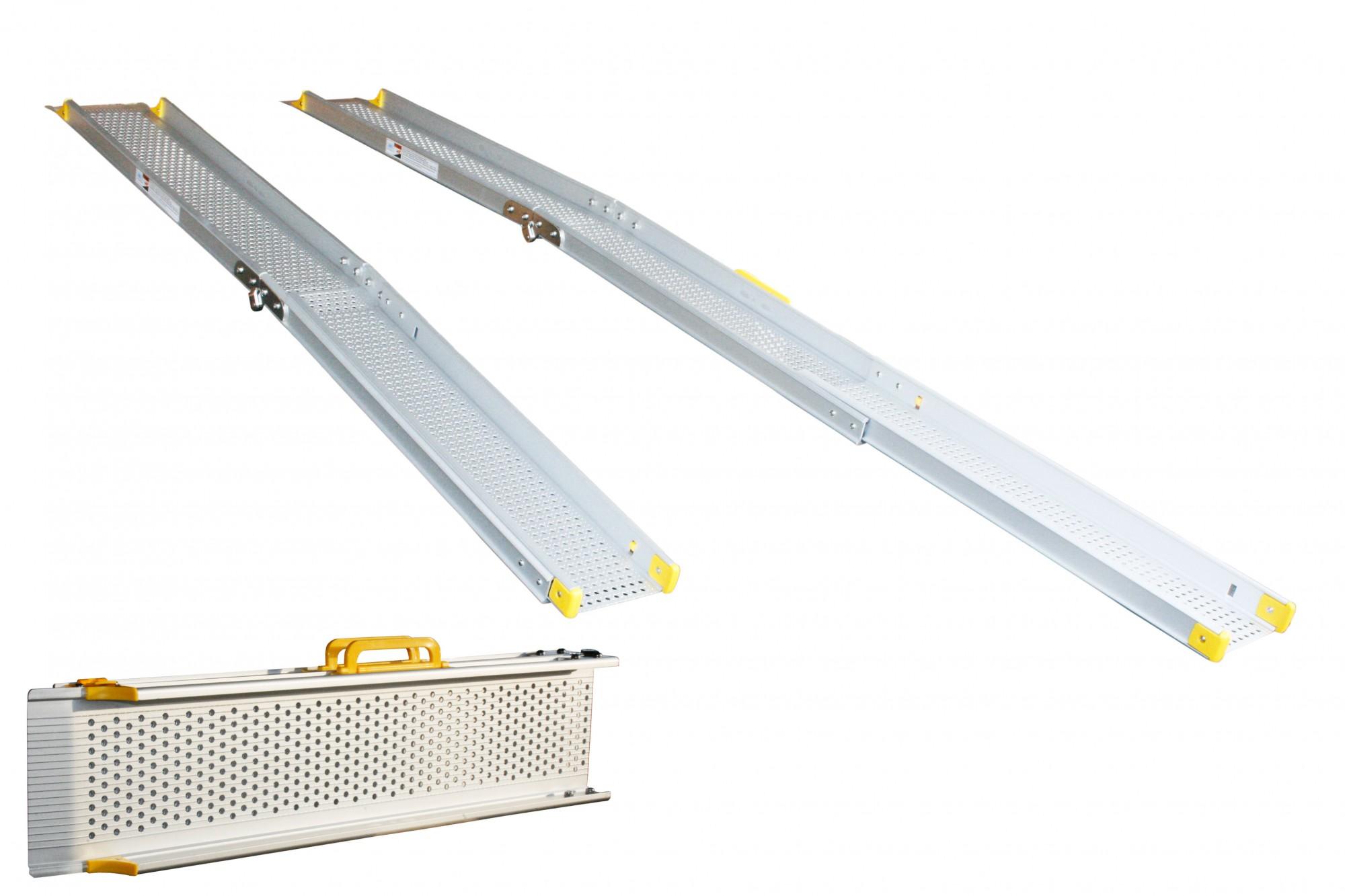 alurampe rollstuhl aluminium rampe klappbar. Black Bedroom Furniture Sets. Home Design Ideas
