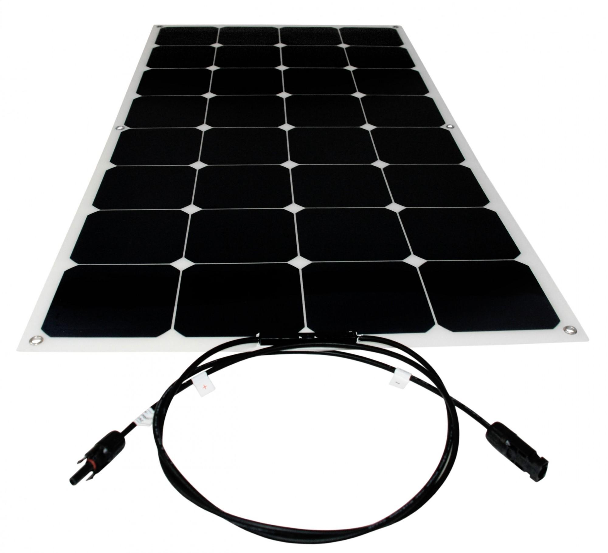 Solar Panel Flexible 100w Backcontact 12v Semi Flex