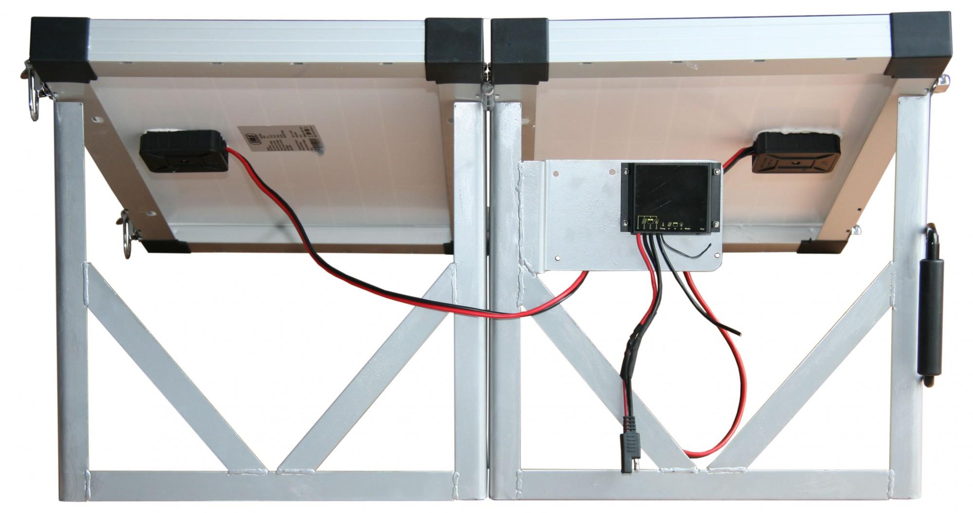 60w 60 watt solarkoffer solarpanel solarmodul photovoltaik. Black Bedroom Furniture Sets. Home Design Ideas