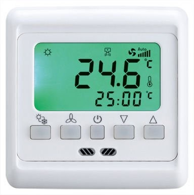 digitaler raumthermostat fu bodenheizung digitaler 16 ampere raumthermostate. Black Bedroom Furniture Sets. Home Design Ideas